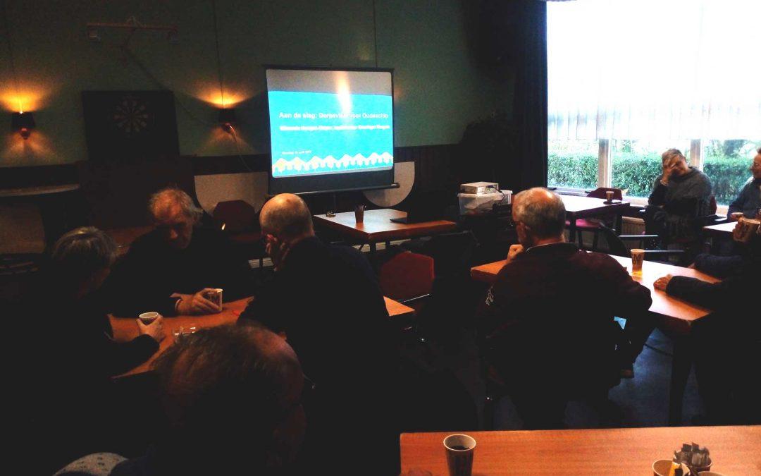 Dorpsvisie Oudeschip Bijeenkomst 1 Leefbaarheid en bestaansrecht