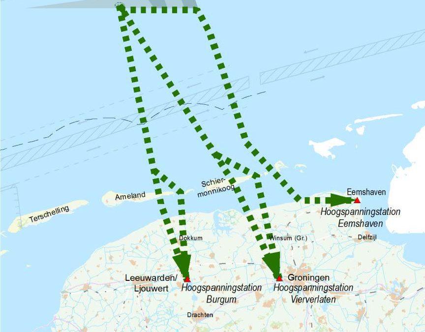 Tennet Trace Windparken op Zee
