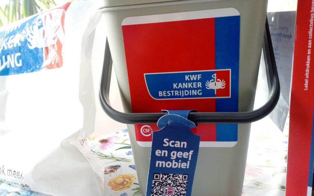 Collectebus KWF Kankerbestrijding in Oudeschip