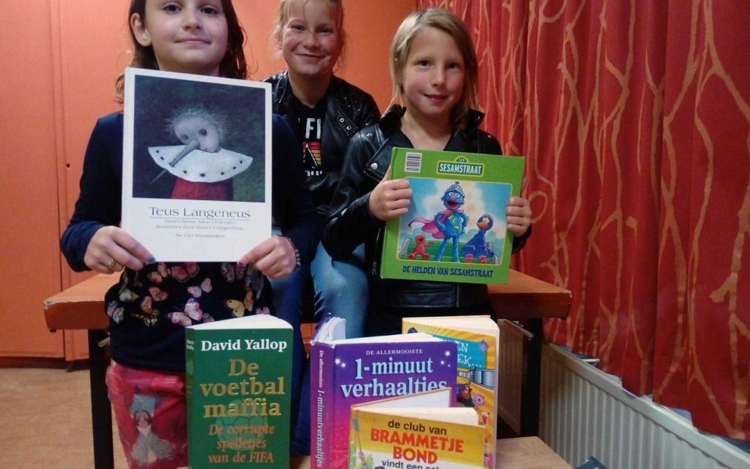 12 Oktober Kinderboekenmarkt Oudeschip