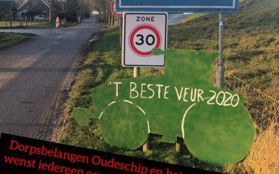 Geslaagde decemberactiviteiten in Oudeschip en t beste voor 2020!