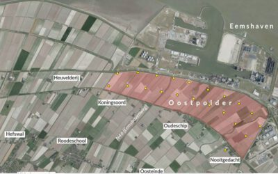 Alle berichten over Uitbreiding Eemshaven in Oostpolder