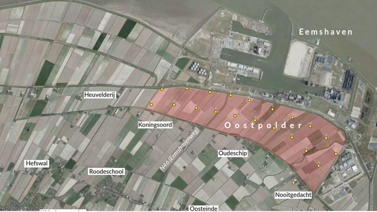 Foto: Eemshaven Uitbreiding Groningen Seaports